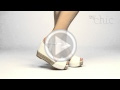 Video muymuychic sandalia modelo basic
