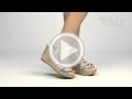Video muymuychic sandalia modelo decó