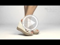 Video muymuychic sandalia modelo lanière